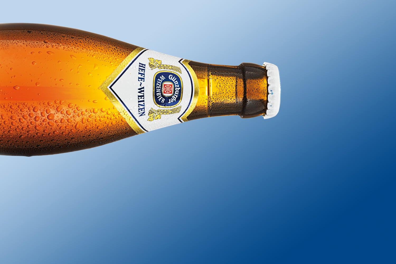 Radbrauerei Gebr. Bucher –Günzburger Weizen – Alkoholfrei - Hefeweizen