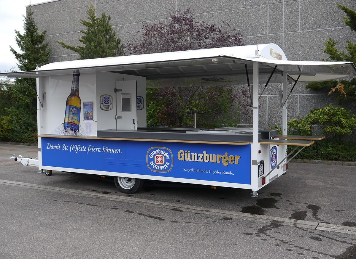Radbrauerei Gebr. Bucher –Günzburger Weizen – Mietservice, Weizenburg