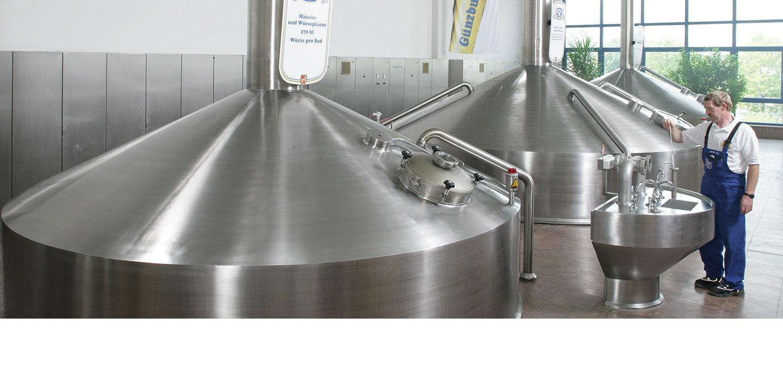Radbrauerei Gebr. Bucher –Günzburger Weizen – Rundgang durch die Brauerei