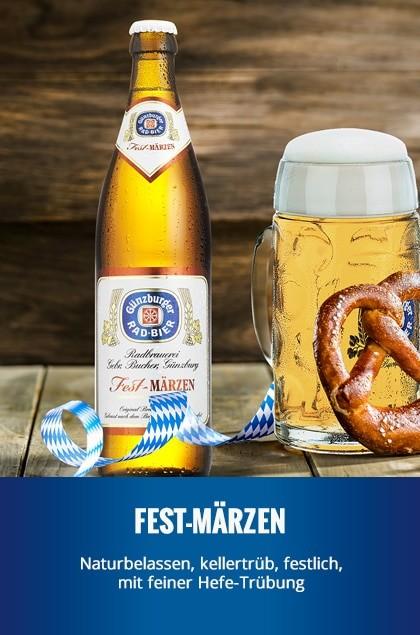 Radbrauerei Gebr. Bucher –Günzburger Weizen – Fest-Märzen