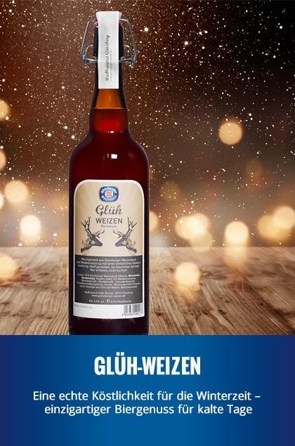 Radbrauerei Gebr. Bucher –Günzburger Weizen – Glüh-Weizen