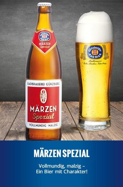 Radbrauerei Gebr. Bucher –Günzburger Weizen – Märzen Spezial