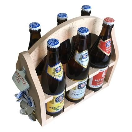 Radbrauerei Gebr. Bucher –Günzburger Weizen – Shop, Flaschenträger