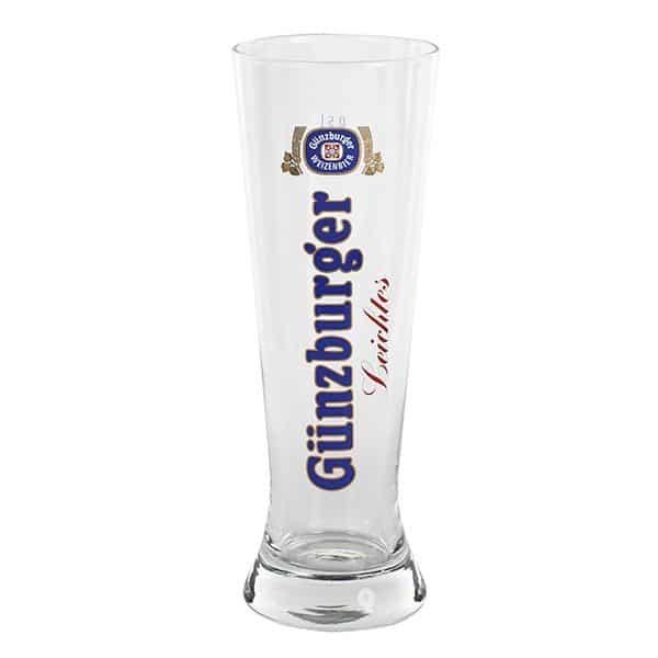 Radbrauerei Gebr. Bucher –Günzburger Weizen – Shop, Weizenglas Merkur Leichtes Weizen, 0,5l