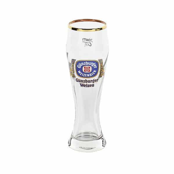 Radbrauerei Gebr. Bucher –Günzburger Weizen – Shop, Weizenglas Merkur, 0,1l