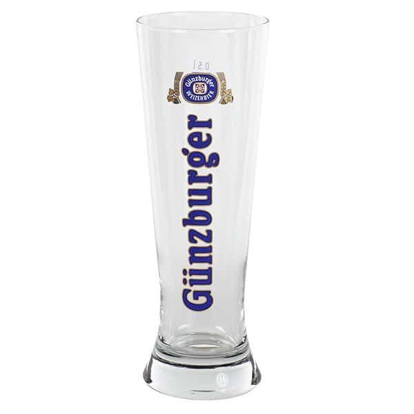 Radbrauerei Gebr. Bucher –Günzburger Weizen – Shop, Weizenglas Merkur, 0,5l