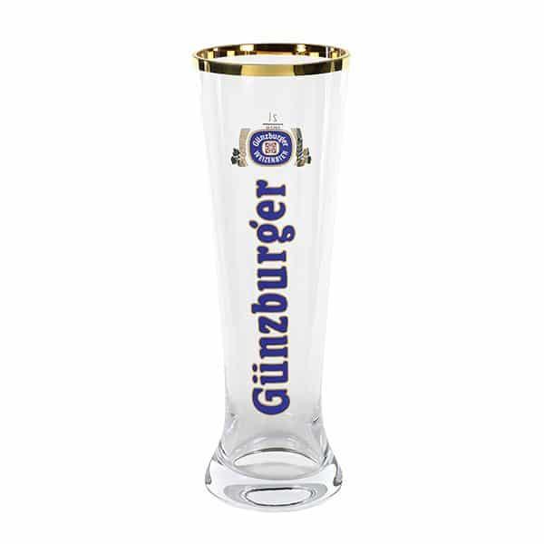 Radbrauerei Gebr. Bucher –Günzburger Weizen – Shop, Weizenglas Merkur, 2,0l