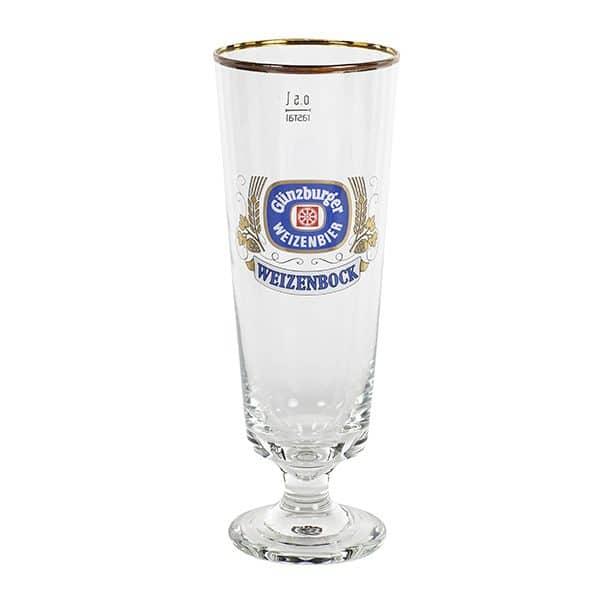 Radbrauerei Gebr. Bucher –Günzburger Weizen – Shop, Weizenbockstutzen