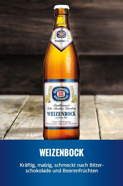 Radbrauerei Gebr. Bucher –Günzburger Weizen – Weizenbock
