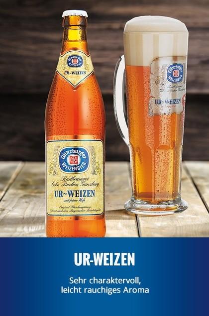 Radbrauerei Gebr. Bucher –Günzburger Weizen – Ur-Weizen